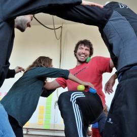 Assistant Trainers Sharing Knowledge v Estoniji
