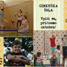 Cirkuška šola za otroke
